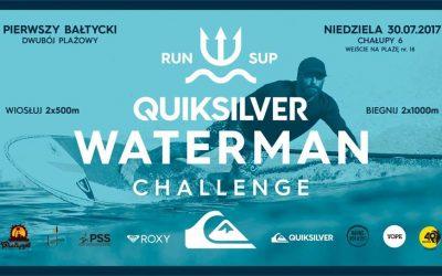 Quiksilver Waterman Challenge 2017 – wiosłuj i biegnij