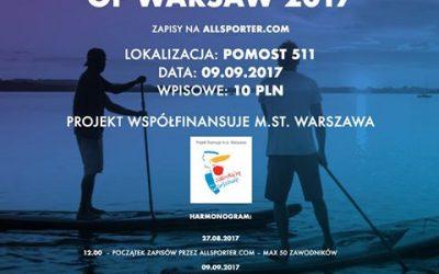 SUP Battle of Warsaw 2017 – wielkie zawody w Warszawie