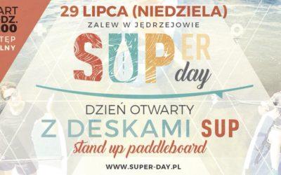 ZALEW W JĘDRZEJOWIE – SUPER DAY CZYLI DZIEŃ OTWARTY Z DESKAMI SUP